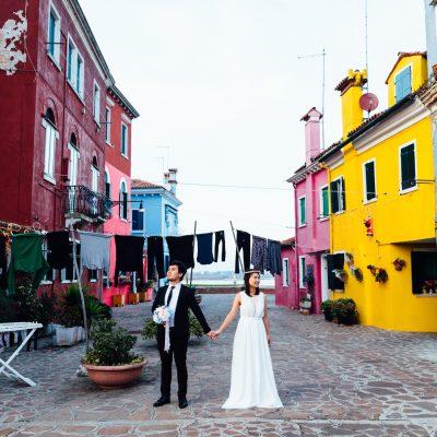 Deux amoureux à Burano