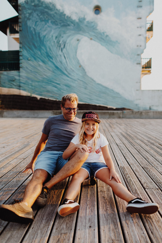 Paddle au coucher du soleil - Remember Happiness Photographie