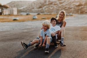 Session skate une Séance famille à Seignosse | Remember Happiness Photographie