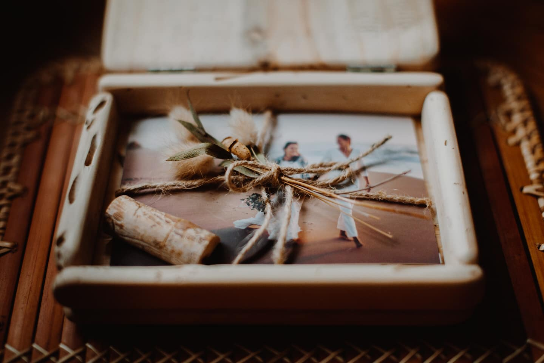 boites en bois pour tirages photos mariage