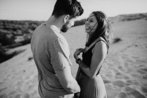 Agatha et Julien une Séance engagement à Landes | Remember Happiness Photographie