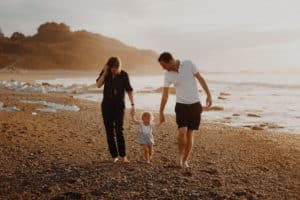 Golden Hour une Séance famille à Guéthary | Remember Happiness Photographie