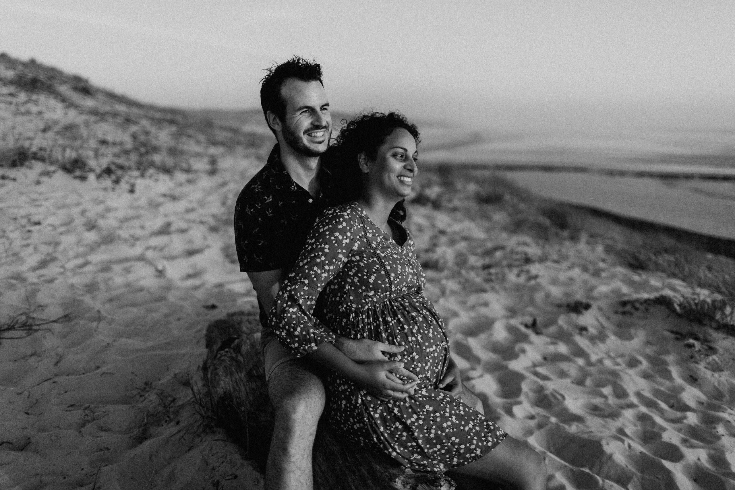 Douce soirée une Séance maternité à COntis   Remember Happiness Photographie