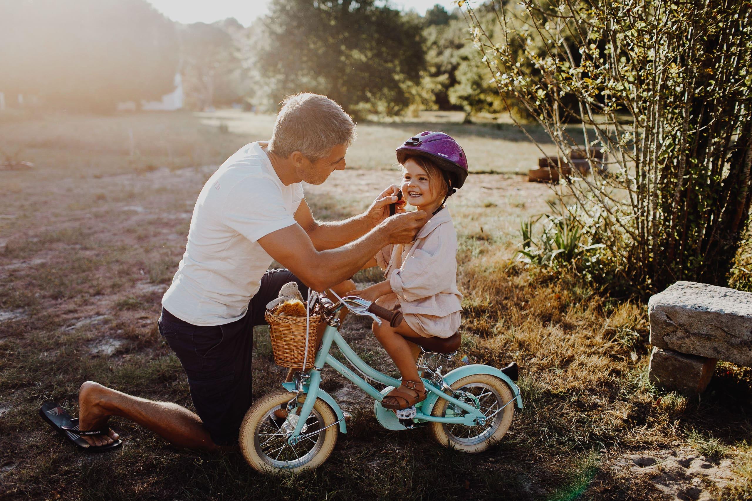 Paddle au coucher du soleil une Séance Famille à Landes | Remember Happiness Photographie
