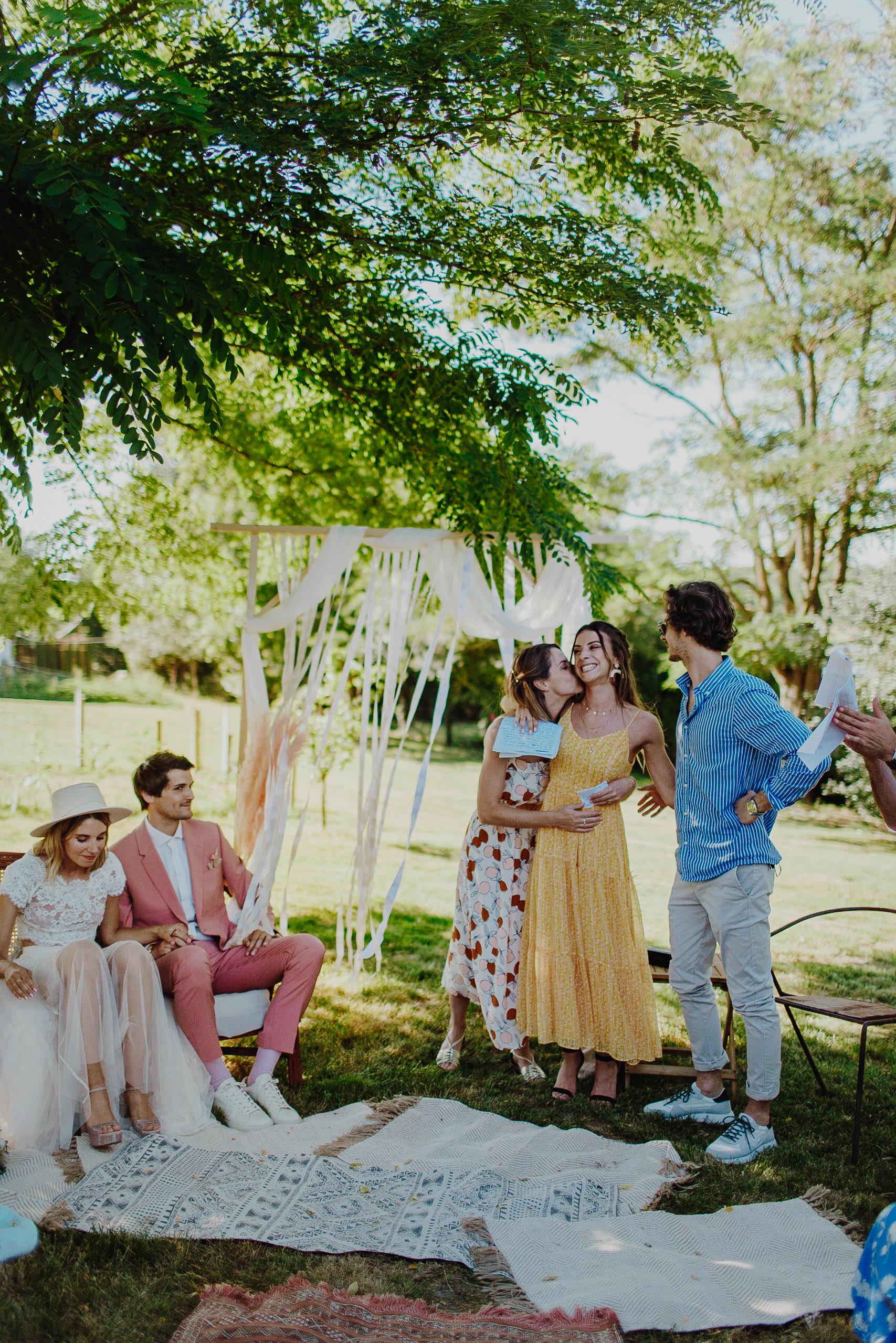 mariage-ceremonie-laique-boheme-californie-toulouse-10 une Mariage à La maison du Lac | Remember Happiness Photographie