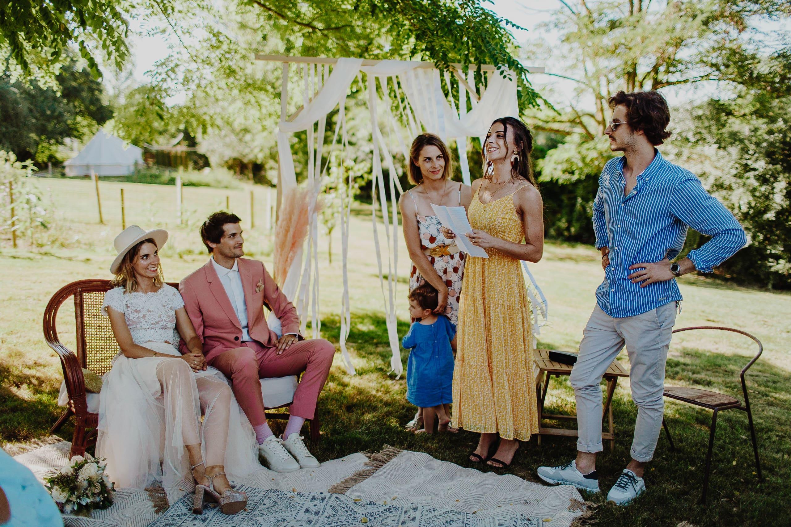 mariage-ceremonie-laique-boheme-californie-toulouse-8 une Mariage à La maison du Lac | Remember Happiness Photographie