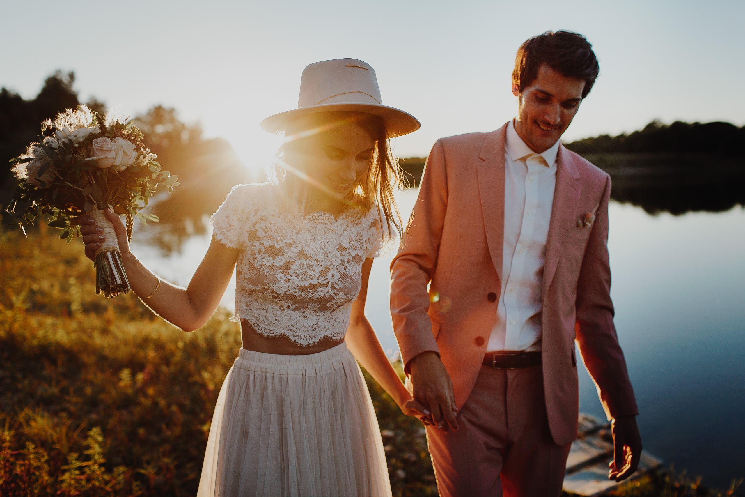 photograpghe-mariage-landes-boheme-domaine-13 une Mariage à La maison du Lac | Remember Happiness Photographie